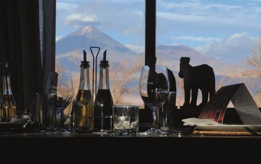 Tierra Atacama - Restaurante com paisagem - baixa