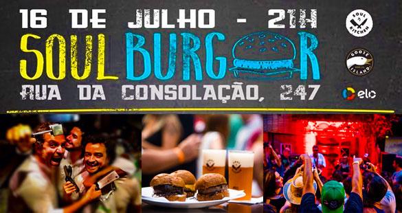 Soul Burger invade o baixa augusta
