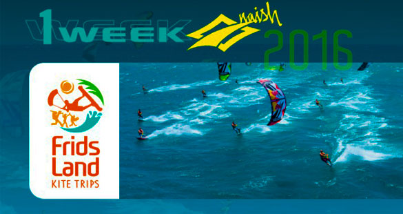 KiteSurf :: One Week Naish 2016