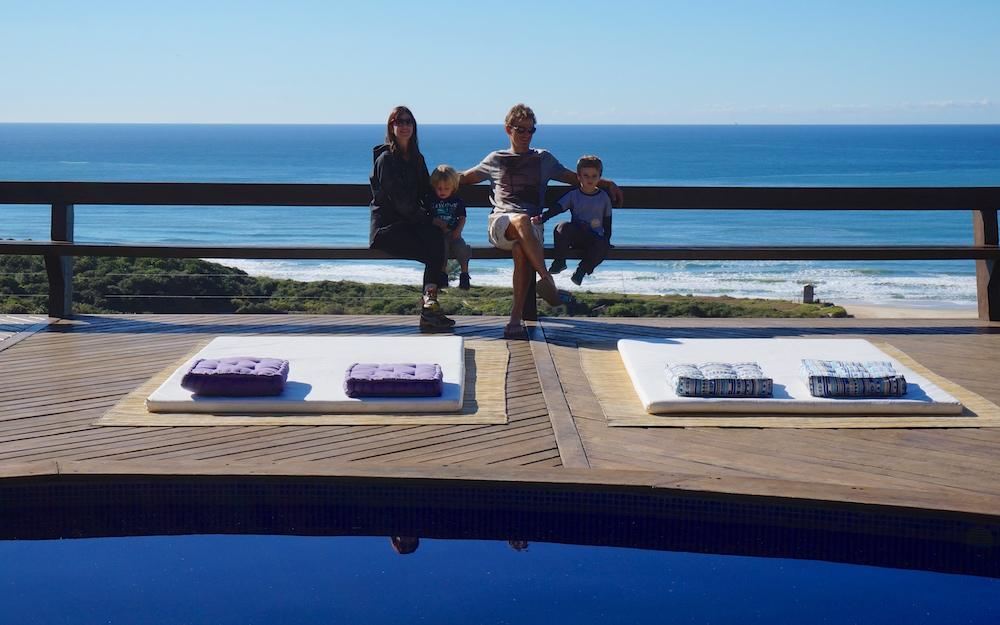 Praia do Rosa e o Solar Mirador