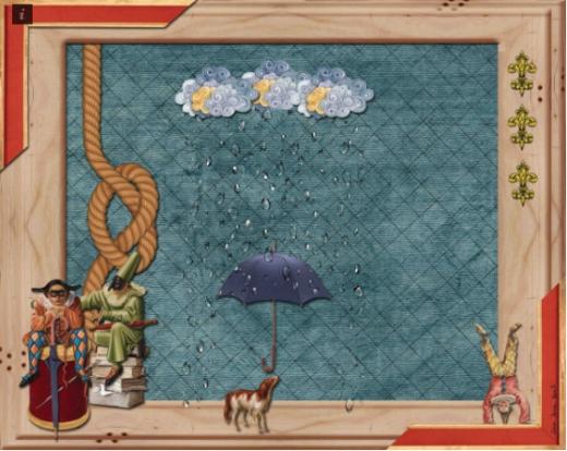 o-belo-no-papel-chuva