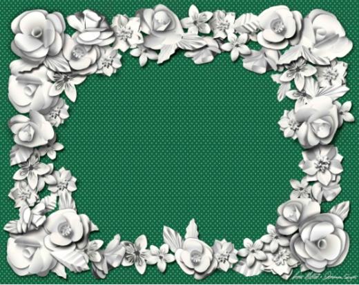 o-belo-no-papel-jogo-americano-verde