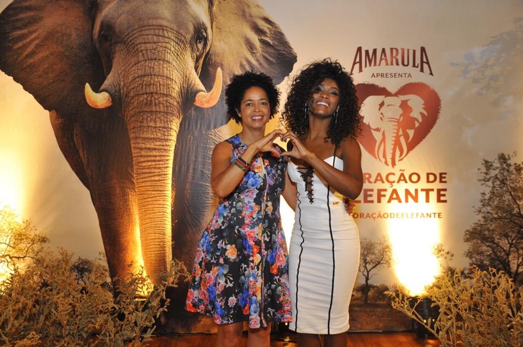Amarula apoia causa nobre dos elefantes em evento em SP