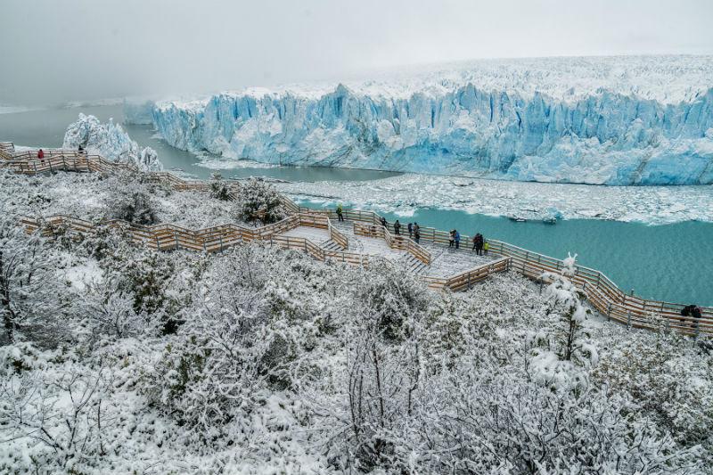 Patagônia Argentina como pano de fundo para o Réveillon