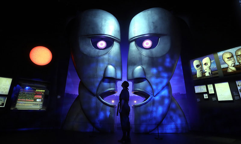 Exposição do Pink Floyd em Londres tem data prorrogada no museu V&A