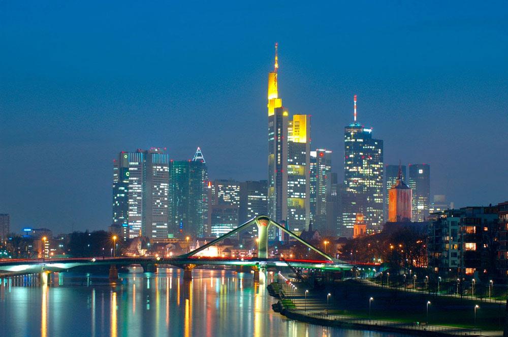 Viagem à Frankfurt exibe novo skyline