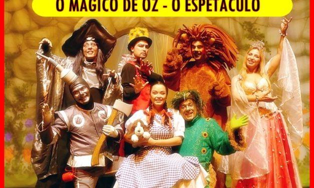 O mágico de Oz para crianças