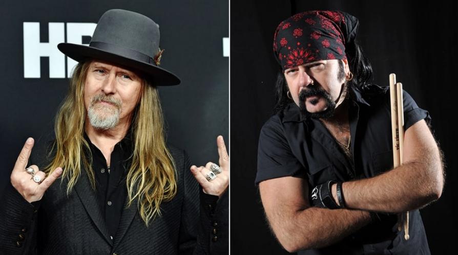 Jerry Cantrell do Alice in Chains presta homenagem a Vinnie Paul durante show