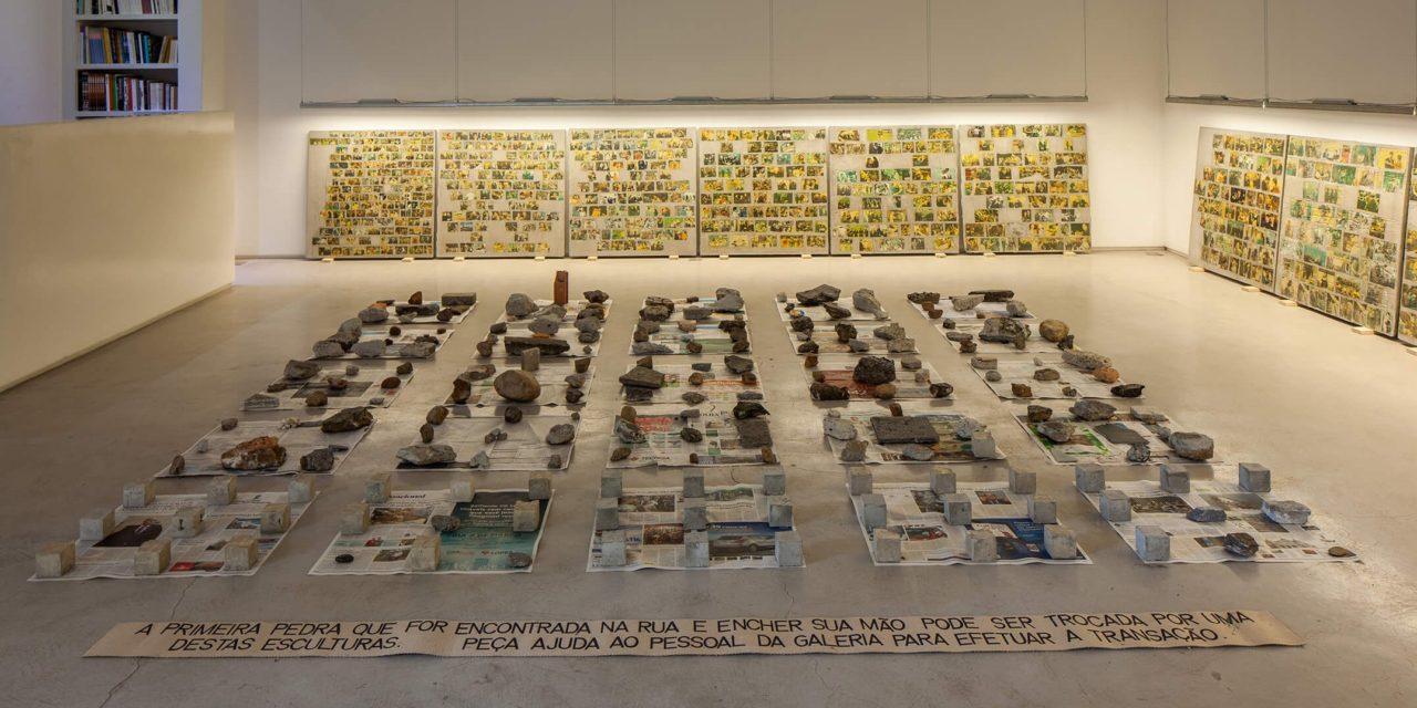 Obras de Marcius Galan, Débora Bolsoni,Regina ParraeMatheus Rocha Pitta em instalações interativas na Pinacoteca
