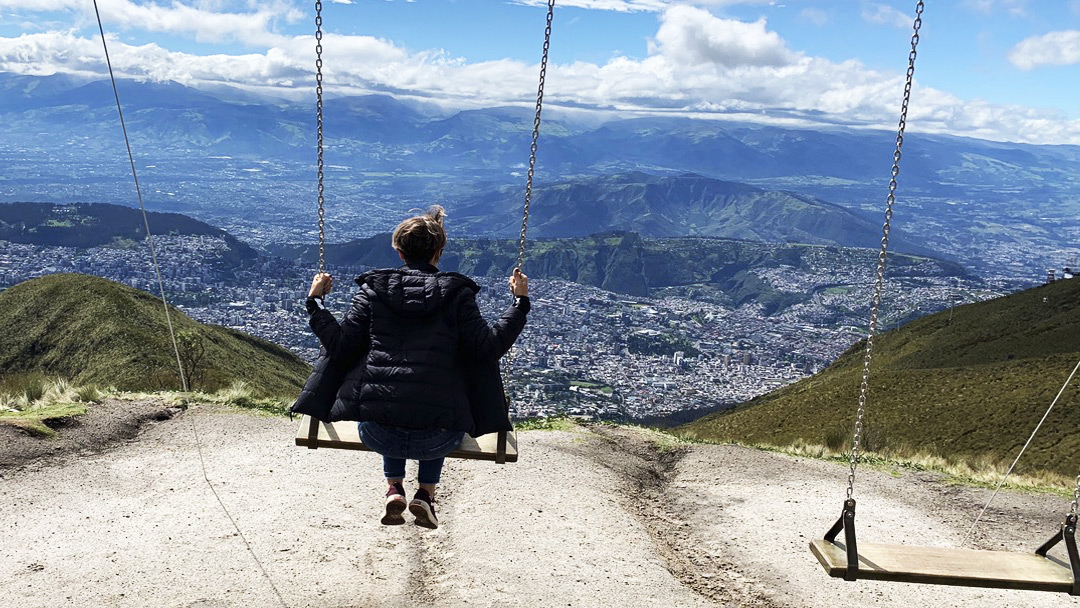Jogando Golfe entre Vulcões | Equador