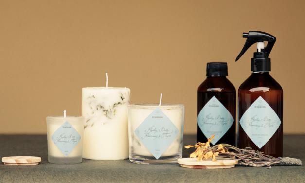 Nova linha de velas e aromas para casa com fragrância exclusiva inspirada em música inglesa gravada por Simon & Garfunkel
